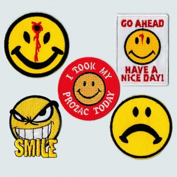 Patches - Different Smileys – picture 1
