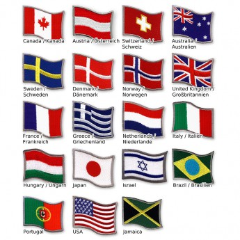 "Patches ""Flags"" – picture 1"