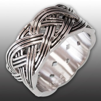 Anillo de Acero Inoxidable - Nudo Celta – picture 1