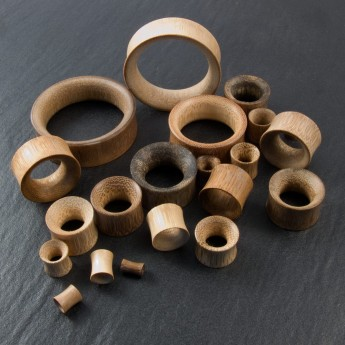 "Flesh Tunnel ""Bamboo"" up to 50 mm – picture 3"