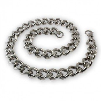 Massive Stainless Steel Armor / Curb Chain - Bracelet or Necklace – picture 3
