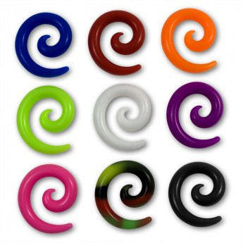 Silicone Spiral Stretcher in different Colors