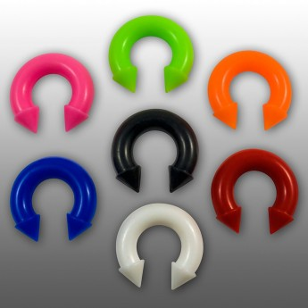 Silicone Circular Barbell with Cones