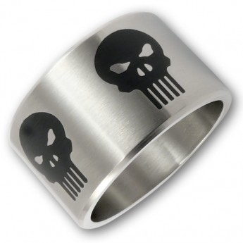 Anillo de Acero Inoxidable - The Punisher