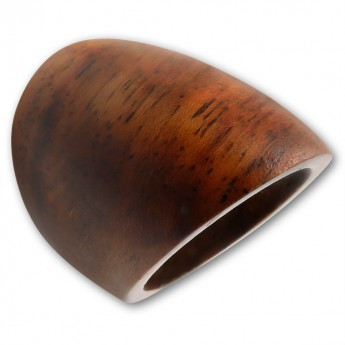 Plain Brown Sono Wood Ring