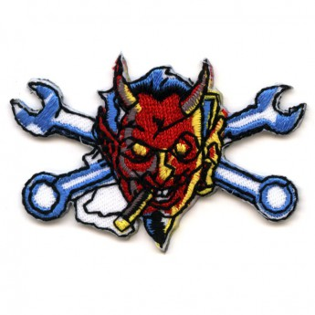 "Patch ""Smoking Devil with Spanners"""