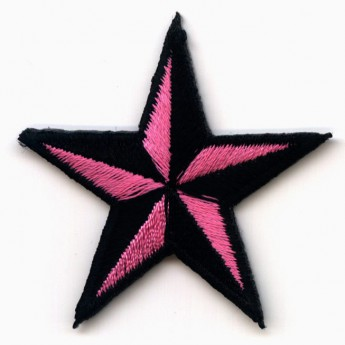 "Patch ""Pink Nautical Star"""