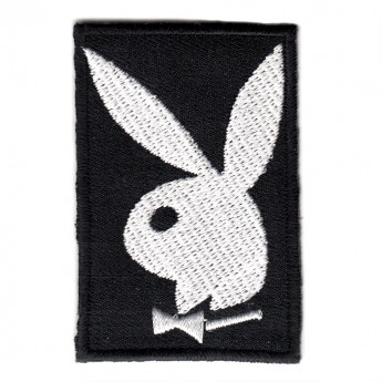 "Patch ""Playboy - Playmate - Bunny white"""