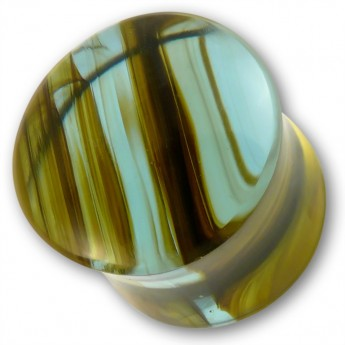 Ear Plug - Rainbow Obsidian - in three different colors – picture 3