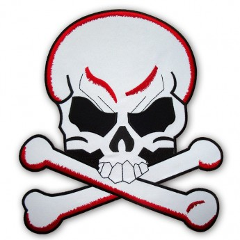 "Back Patch ""Skull and Bones"""