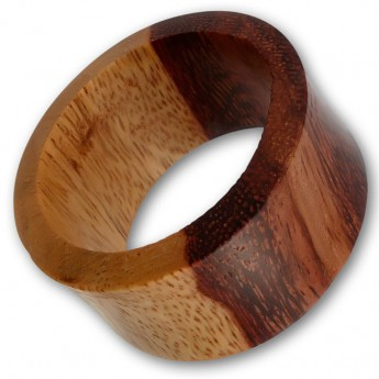 Ear Flesh Tunnel from Tamarind Wood – picture 1