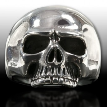 "Silver Ring ""Classic Skull"" – picture 2"