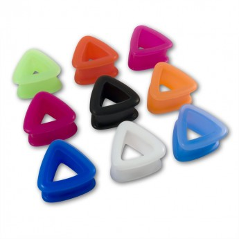 Triangle Silicone Tunnel in different Colors  – picture 1