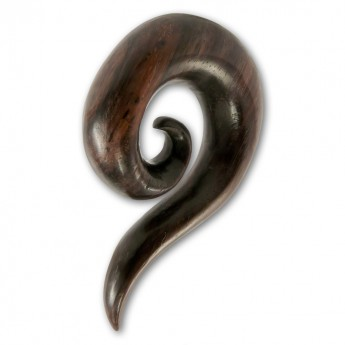 Wood Ear Spiral Expander - Curved Spiral – picture 1