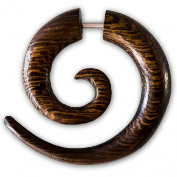 Plain Fake Spiral Expander from Horn, Bone or Wood – picture 7