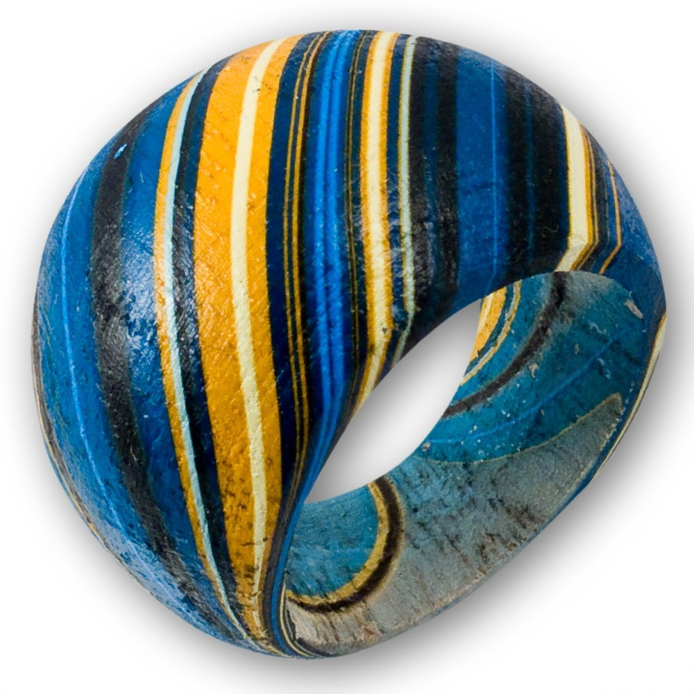 ... in Batik Optik in verschiedenen Farben Ringe Damenringe breite Ringe