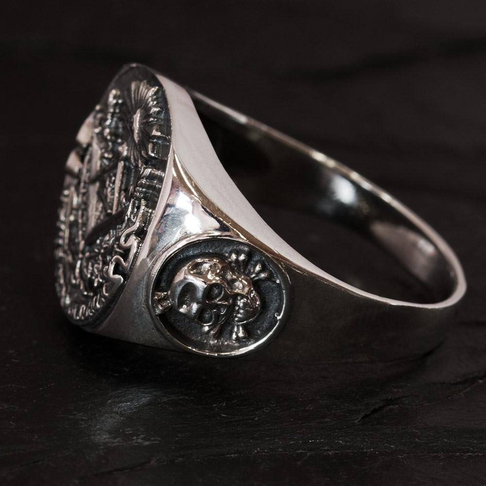 Silicon Masonic Ring