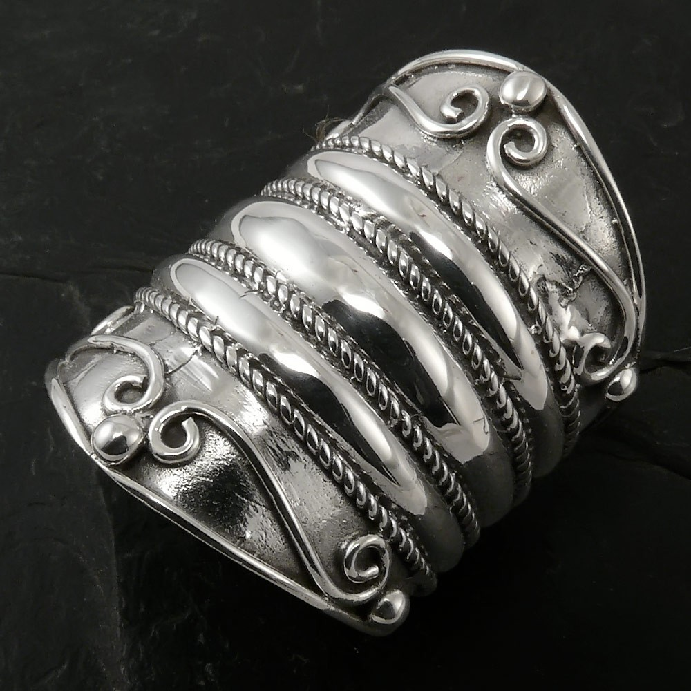Silver Ring Medieval Ornaments Rings Rings For Women